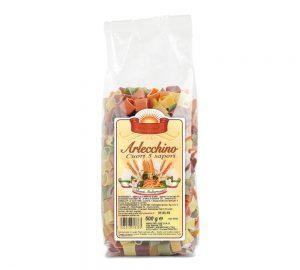 sacchetto pasta colorata cuori ai 5 sapori 500 gr.