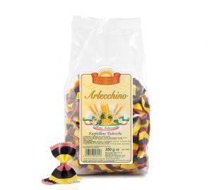 sacchetto pasta colorata farfalle tedesche 250 gr.