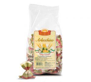 sacchetto pasta colorata farfalle italia 500 gr.