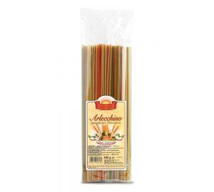 sacchetto spaghetti tricolori 500 gr.