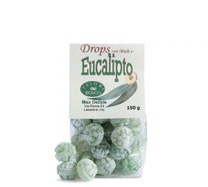 sacchetto drops con miele e eucalipto gr. 150