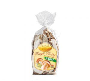 sacchetto funghi porcini secchi qualità extra 50 gr. tesori del bosco