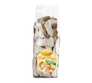sacchetto funghi porcini secchi extra rinfusa 100 gr. tesori del bosco