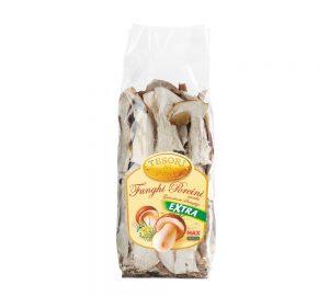 sacchetto funghi porcini secchi extra rinfusa 50 gr. tesori del bosco