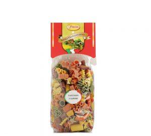 sacchetto pasta colorata fantasia primizia 500 gr.