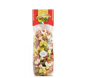sacchetto pasta colorata farfalle primizia 500 gr.