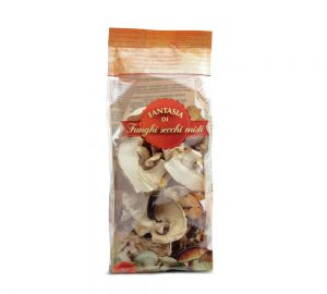 sacchetto funghi secchi misti 50 gr. max delizie