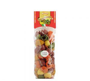 sacchetto pasta colorata lumache primizia 500 gr.