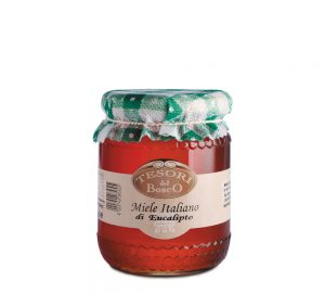 vaso miele italiano di eucalipto 500 gr.