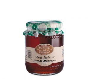 vaso miele italiano fiori di montagna 500 gr.
