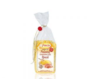 polenta istantanea allo speck in sacchetto da 200 g