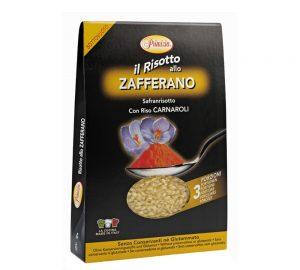 preparato per risotto allo zafferano senza conservanti sottovuoto 175 gr.
