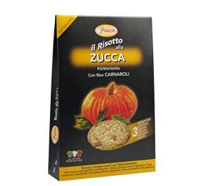 preparato per risotto alla zucca senza conservanti 175 gr.
