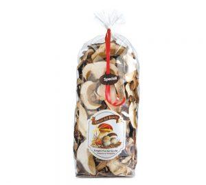 funghi porcini secchi speciali 200 gr. tesori del bosco