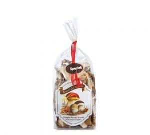sacchetto funghi porcini secchi speciali 50 gr. tesori del bosco