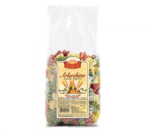sacchetto pasta colorata stelle alpine da 500 gr.