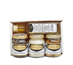 vassoio 4 prodotti mignon tesori del bosco - idea regalo
