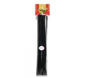 sacchetto pasta colorata vermicelloni al nero di seppia 500 gr.