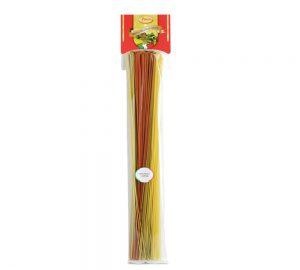 sacchetto pasta colorata vermicelloni tricolori 500 gr.