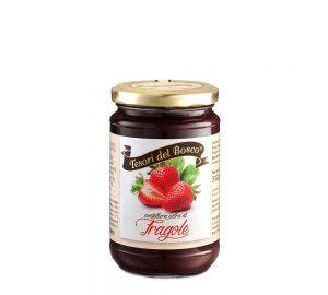 confettura extra di fragole in vaso da 340 g