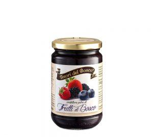 confettura extra di frutti di bosco 340 g tesori del bosco