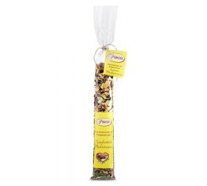 spaghettata mediterranea in sacchetto a tubo da 90 g