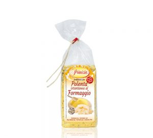 polenta istantanea al formaggio in sacchetto da 200 g