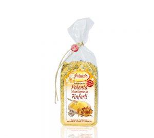 polenta istantanea ai finferli in sacchetto da 200 g