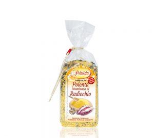 polenta istantanea al radicchio in sacchetto da 200 g