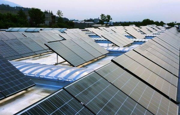 Impianto fotovoltaico azienda Primizie Food Torrebelvicino