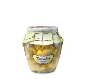carciofini sottolio in vaso orcio da 314 ml