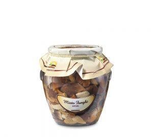 misto funghi sottolio in vaso orcio da 314 ml