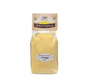 polenta insaporita al formaggio 400 g