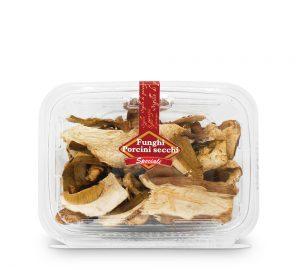 funghi porcini secchi speciali in vaschetta